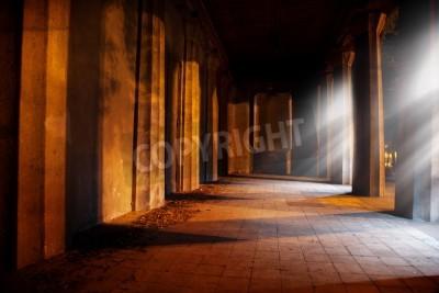 Väggdekor Sten valv i gammal byggnad