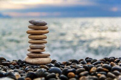Väggdekor stenar Balans