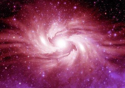 Väggdekor Stjärnor, stoft och gas nebulosa