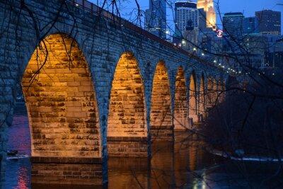 Väggdekor Stone Arch Bridge