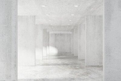 Väggdekor Stora tomma loft