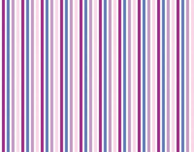 Väggdekor Streifenmuster Hintergrund lila rosa balu