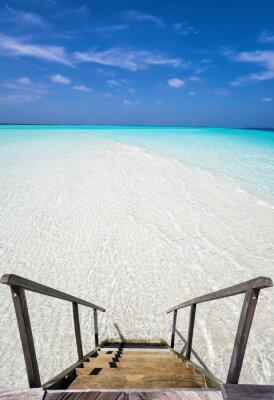 Väggdekor Stufen i den Ozean