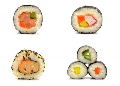 Väggdekor sushi