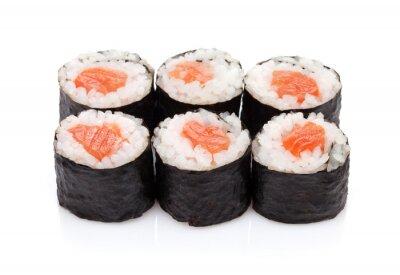 Väggdekor Sushi maki med lax