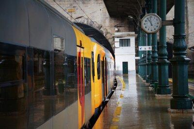 Väggdekor Tåg vid stationen