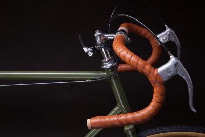 Väggdekor Tappning cykelstyre