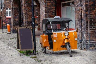 Väggdekor taxi