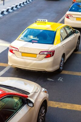 Väggdekor Taxi i Dubai