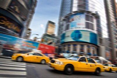Väggdekor Taxibilar - New York, USA