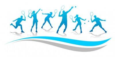 Väggdekor Tennis - 174