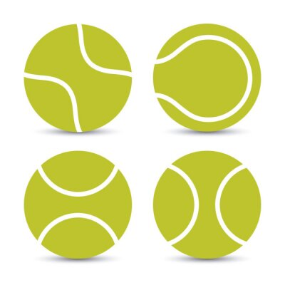 Väggdekor tennis utformning