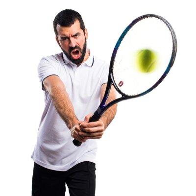 Väggdekor Tennisspelare