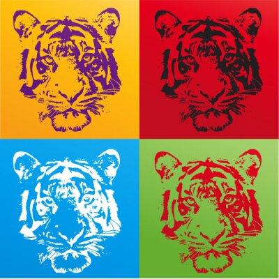 Väggdekor tigre