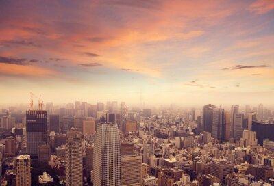 Väggdekor Tokyo horisont
