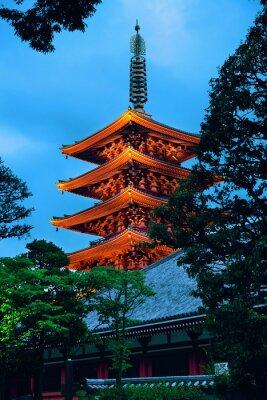 Väggdekor Tokyo tempel