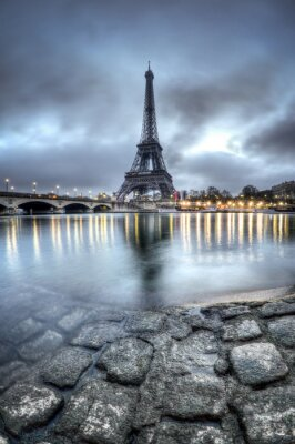 Väggdekor Tour Eiffel - Paris - Frankrike
