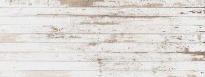 Väggdekor träskiva vit gammal stil abstrakt bakgrund objekt för möbler. träpaneler används sedan. horisontellt