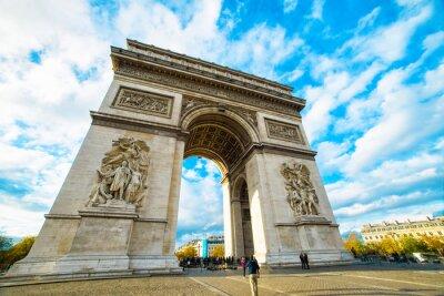 Väggdekor Triumfbågen i Paris