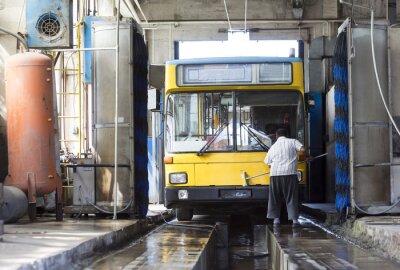 Väggdekor trolley depot