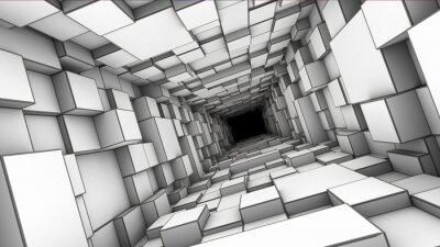 Väggdekor tunnel