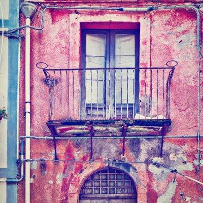 Väggdekor unsightly Fasad