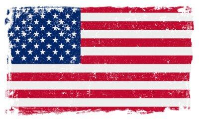 Väggdekor USA sjunker i vektorformat