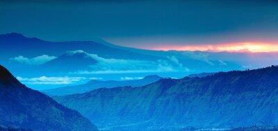 Väggdekor utsikt över bergen på uppifrån, Blue Mountains