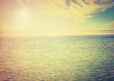 Väggdekor Vacker himmel och blått hav