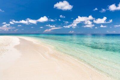 Väggdekor Vacker Ocean Beach på Maldiverna