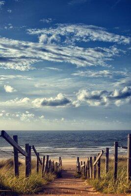 Väggdekor Vägen till stranden vid havet