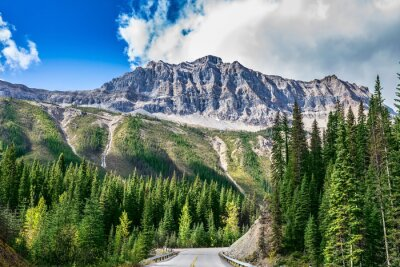Väggdekor Vägen Yoho National Park i Kanada