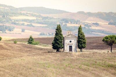Väggdekor Val d'Orcia i egendom