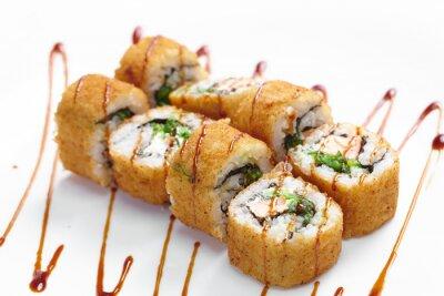 Väggdekor välsmakande sushi