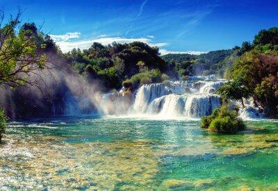 Väggdekor vattenfall Krka