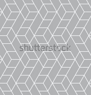 Väggdekor Vector sömlösa mönster. Modern snygg struktur. Upprepa geometriska plattor med trianglar.