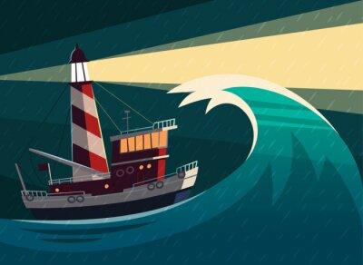 Väggdekor Vektor illustration.