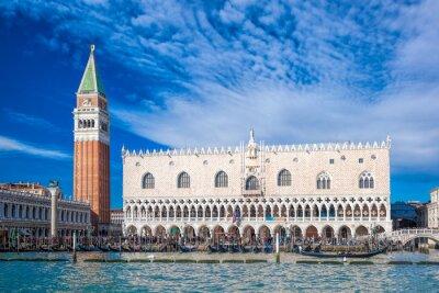 Väggdekor Venedig med Markusplatsen i Italien