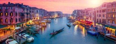 Väggdekor Venedig panorama