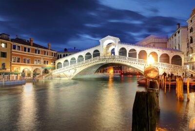 Väggdekor Venedig, Rialtobron. Italien.