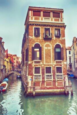 Väggdekor Venezia, palazzo nel canale.