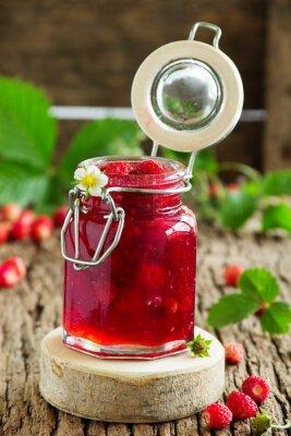 Väggdekor Vild jordgubbssylt.