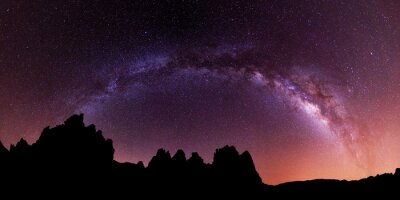 Väggdekor Vintergatan