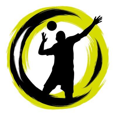 Väggdekor Volleyboll - 101