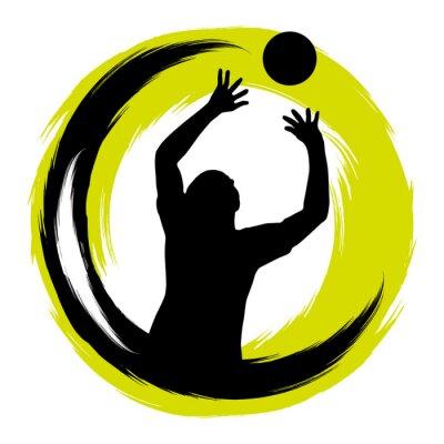 Väggdekor Volleyboll - 99
