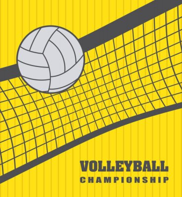 Väggdekor volleyboll boll