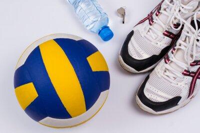 Väggdekor Volleyboll inställd.