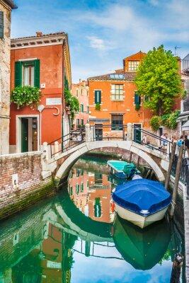 Väggdekor Vykort utsikt över Venedig, Italien