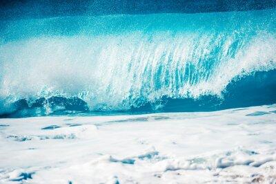 Väggdekor 激 し い 大 波, ハ ワ イ の ノ ー ス シ ョ ア
