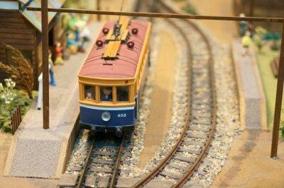 Väggdekor 鉄 道 模型